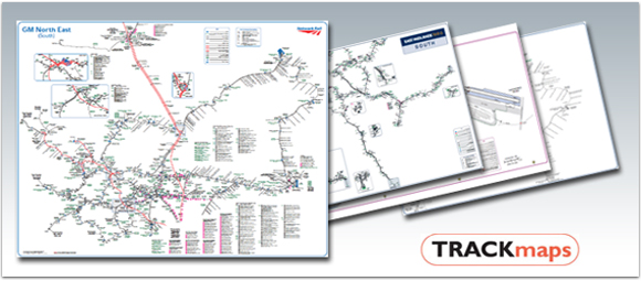 Bespoke Rail Mapping from TRACKmaps